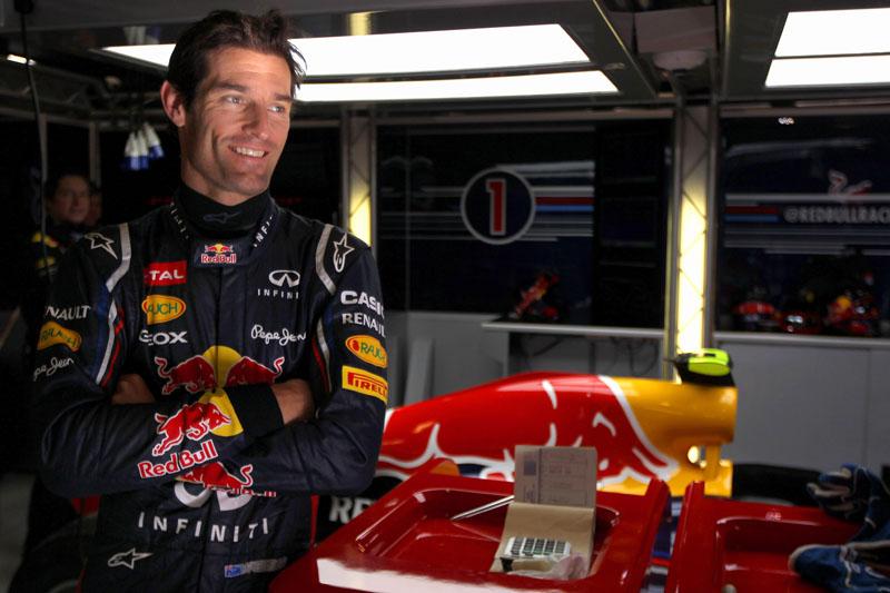 Webber inicia sua sexta temporada pela Red Bull