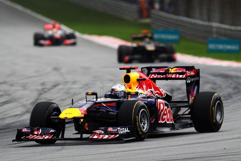 Vettel: quase metade dos pontos do segundo colocado na tabela