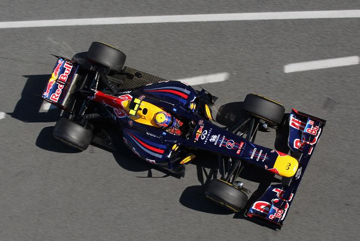 Webber andará na Red Bull na quinta e no sábado