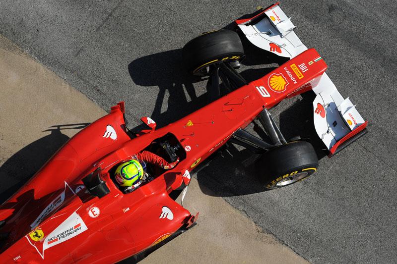 Massa estará a bordo da Ferrari na quinta e no sábado