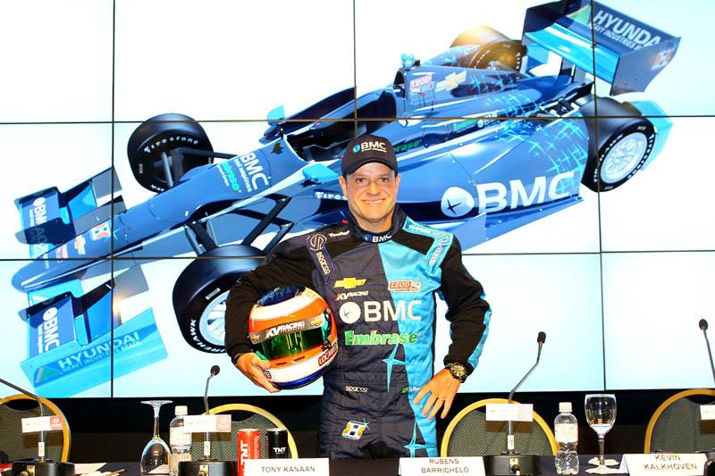 Barrichello está confirmado na Indy em 2012