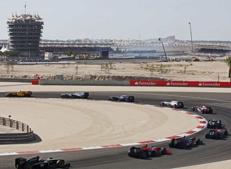 Último GP disputado no Bahrein foi em 2010