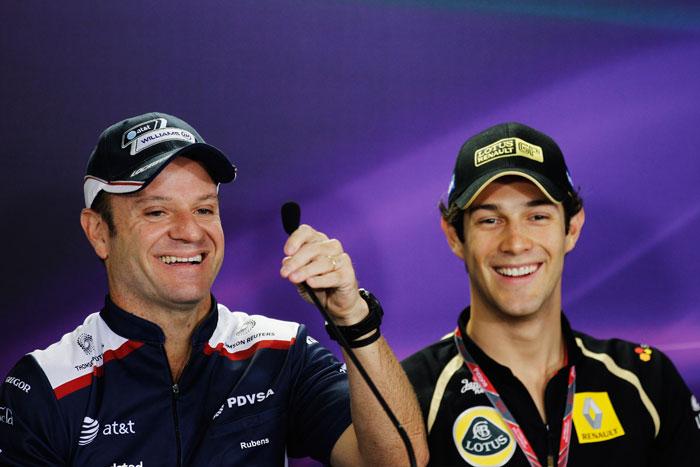 Senna e Barrichello em 2011