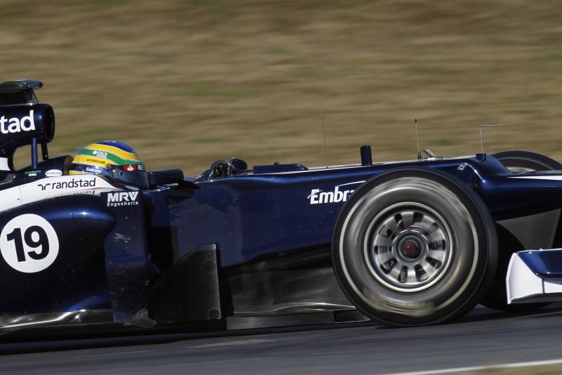Brasileiro completou uma simulação de corrida com o carro da Williams