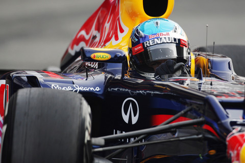 Sebastian Vettel em Barcelona