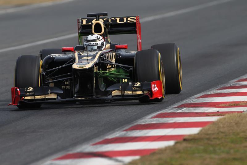 Kimi Raikkonen em Barcelona