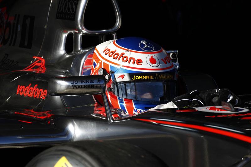 Button inicia sua terceira temporada pela McLaren