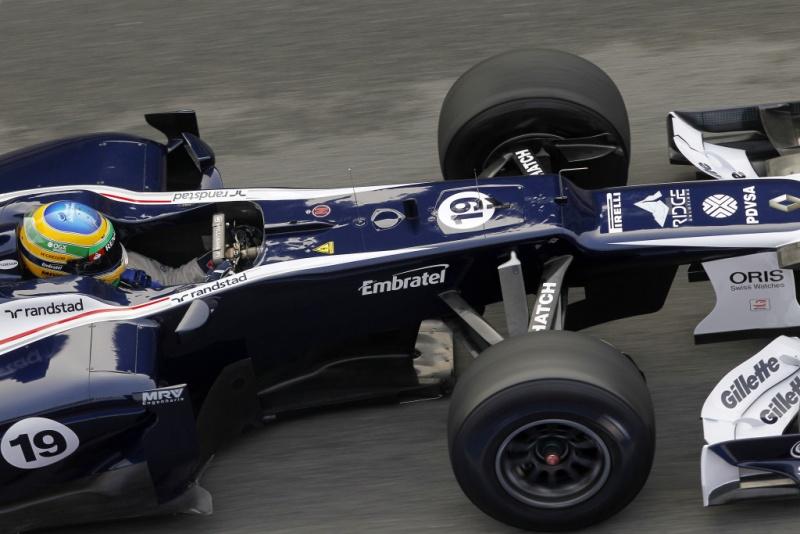 Bruno Senna completou sua primeira pré-temporada em 2012