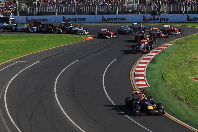O GP da Austrália é disputado em Albert Park desde 1996