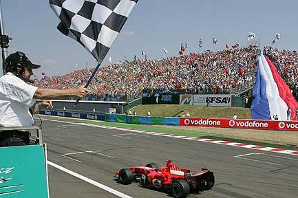 O GP da França não é realizado desde 2008