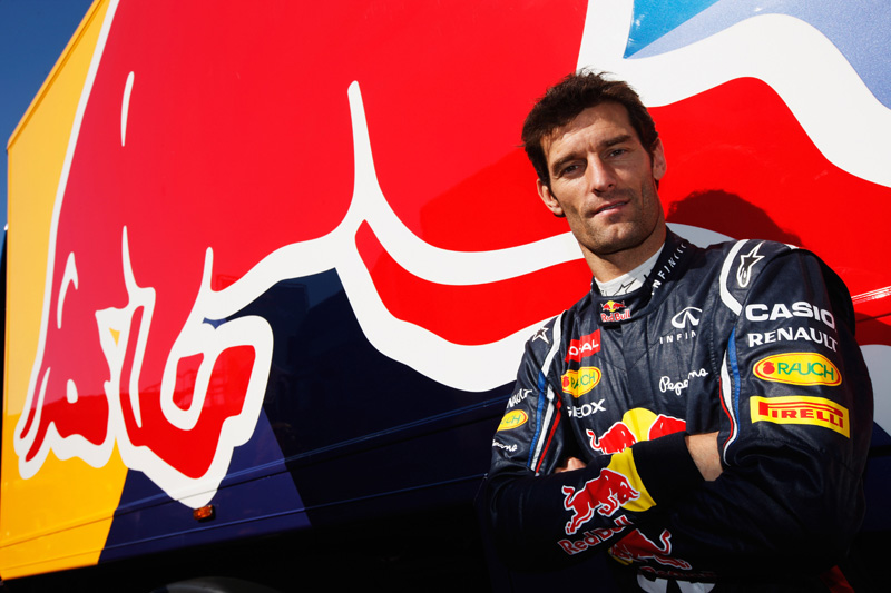 Webber está na Red Bull desde 2007