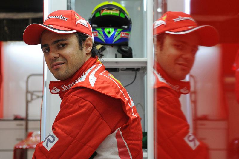 Massa inicia seu sétimo ano como titular na Ferrari