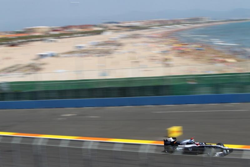 O GP da Europa em Valência é disputado desde 2008
