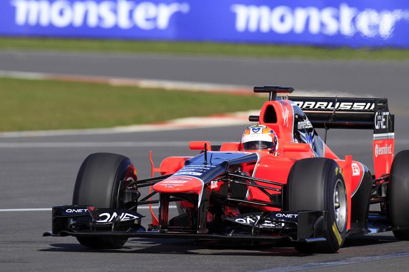Marussia só fez shakedown com carro novo