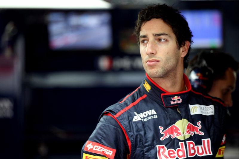 Ricciardo fará seu primeiro ano pela Toro Rosso
