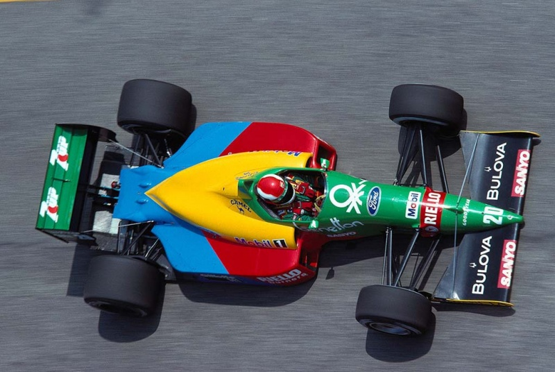 Herbert começou sua carreira na colorida Benetton