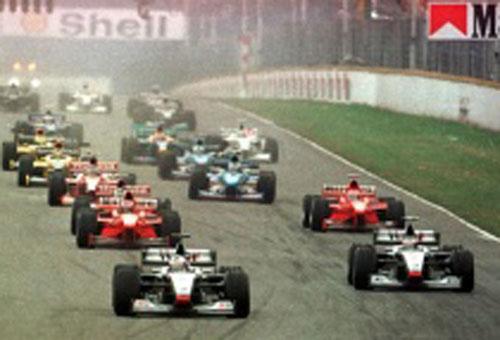 Largada da última etapa argentina da F-1: 1998