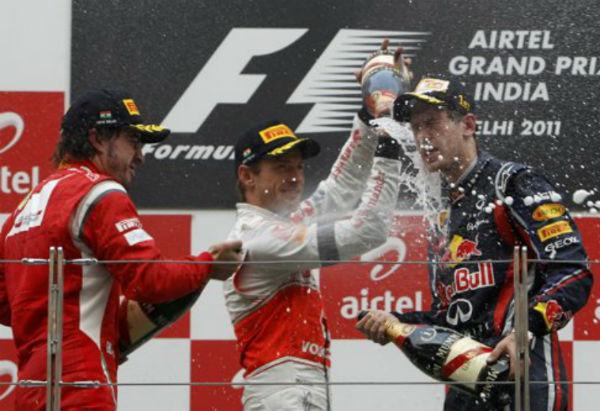 O pódio que mais se repetiu nestes últimos 17 GPs foi entre Button, Alonso e Vettel