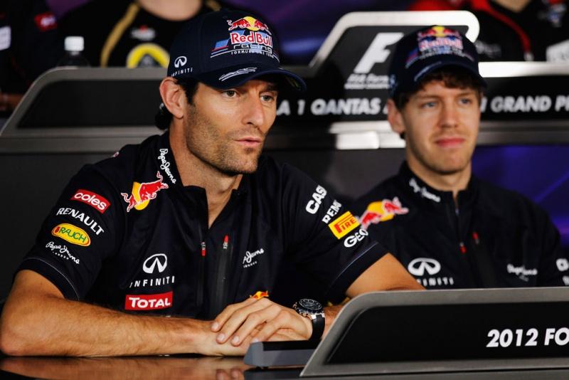 Webber e Vettel: os homens a serem batidos