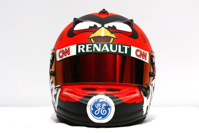 O novo capacete de Kovalainen