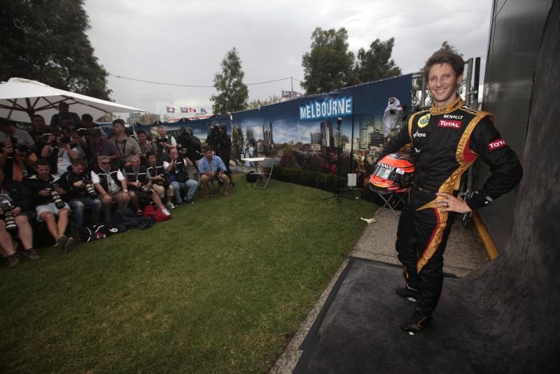 Um francês feliz em fazer parte novamente do ambiente da Fórmula 1