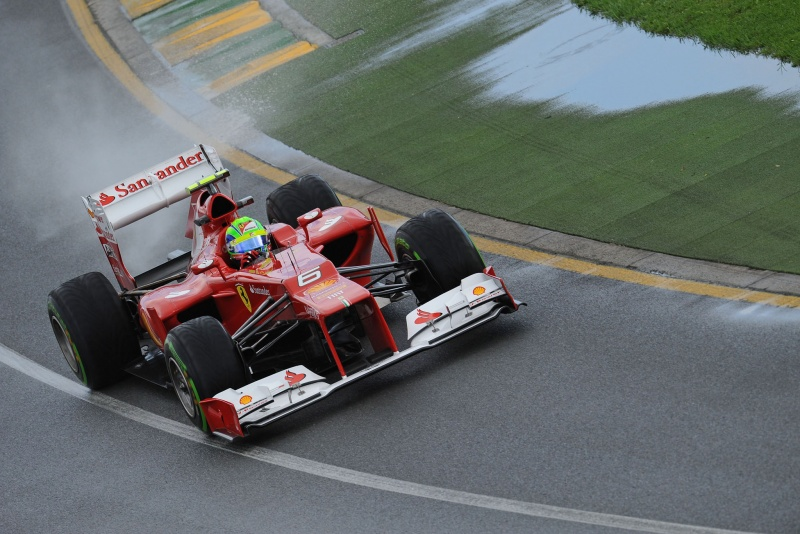 Brasileiro da Ferrari foi um dos que menos voltas completou nesta sexta-feira