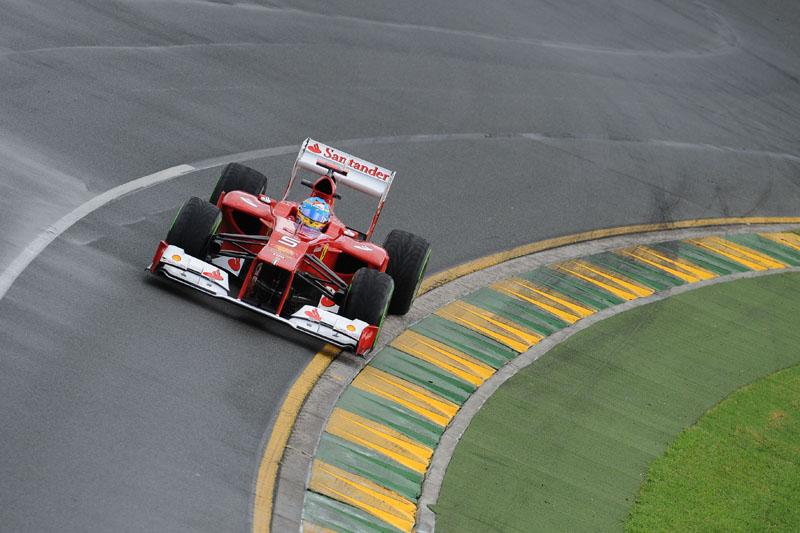 Alonso ocupou o quarto lugar em ambas as sessões