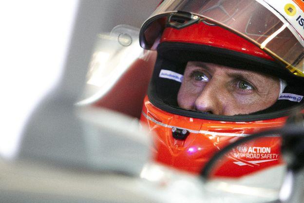 Schumacher se diz feliz com o carro