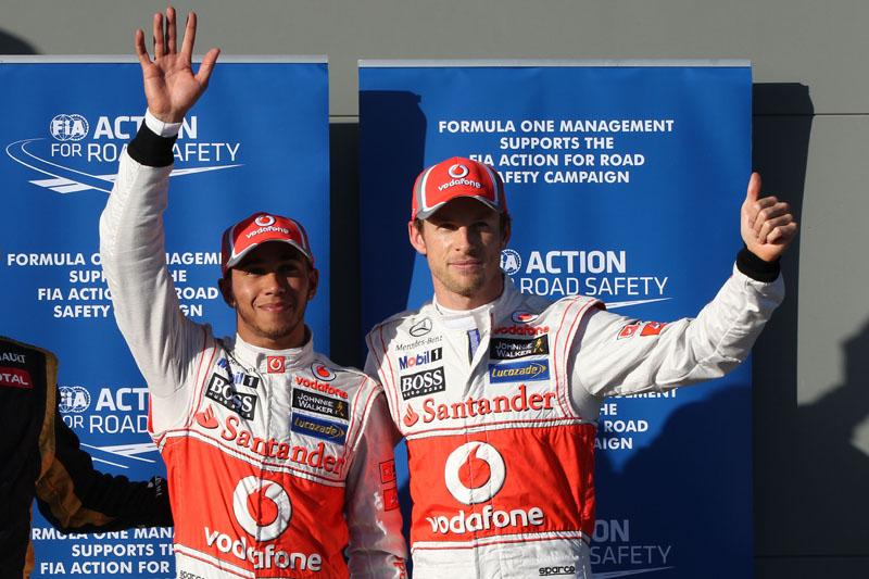 Lewis e Jenson: para muitos a melhor dupla do grid