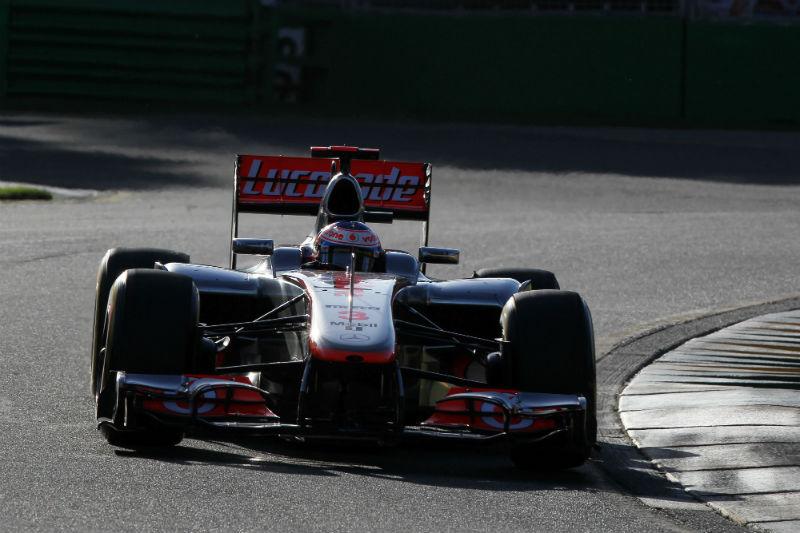 Button saiu na frente no campeonato
