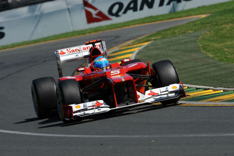 Alonso largou em 12º e terminou em quinto
