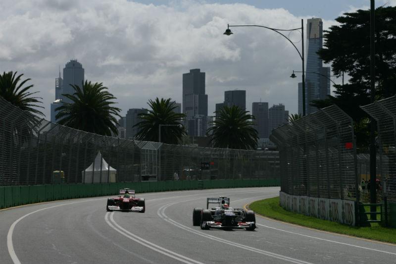 Perez largou em último e chegou em oitavo na Austrália
