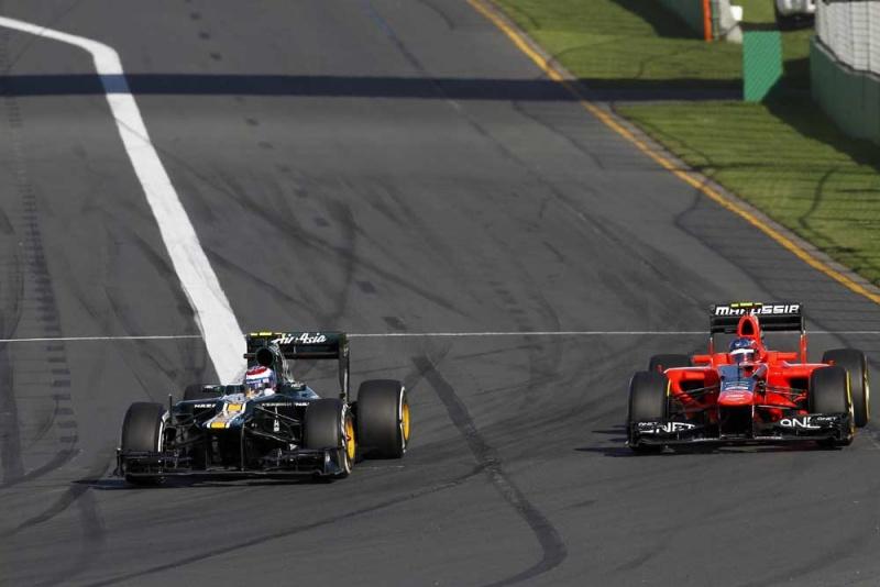 Caterham e Marussia gostaram de suas estreias
