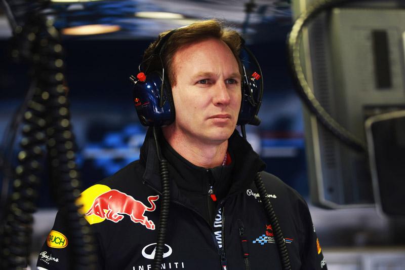 O chefe da Red Bull, Christian Horner
