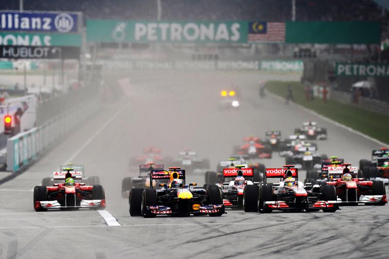 O atual contrato do GP da Malásia vai até 2015