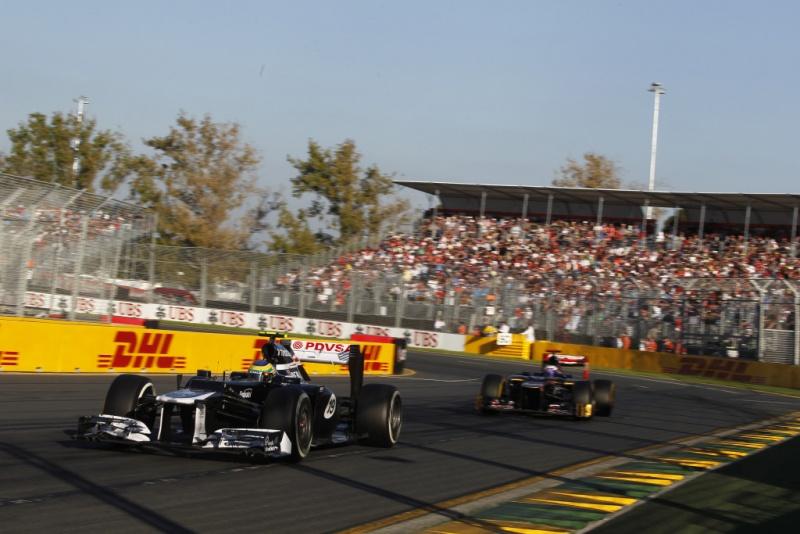 Maldonado fez grande corrida em Melbourne