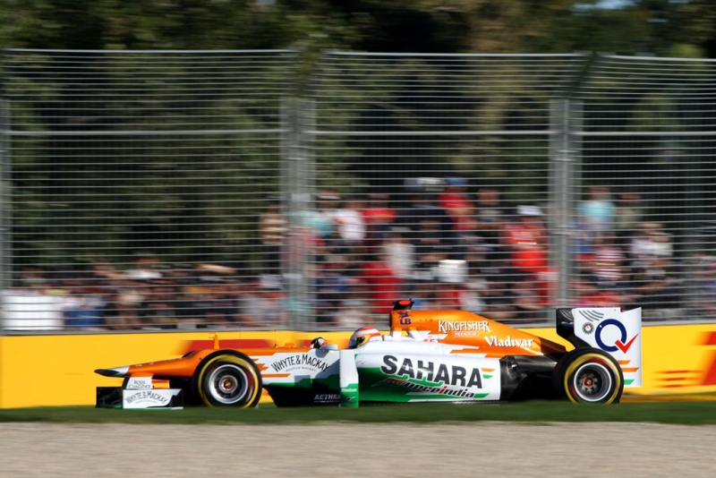 Esquadra da Force India aponta problemas para Sepang