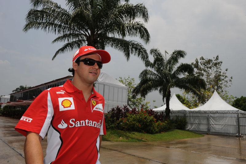 Massa se mostrou tranquilo na Malásia