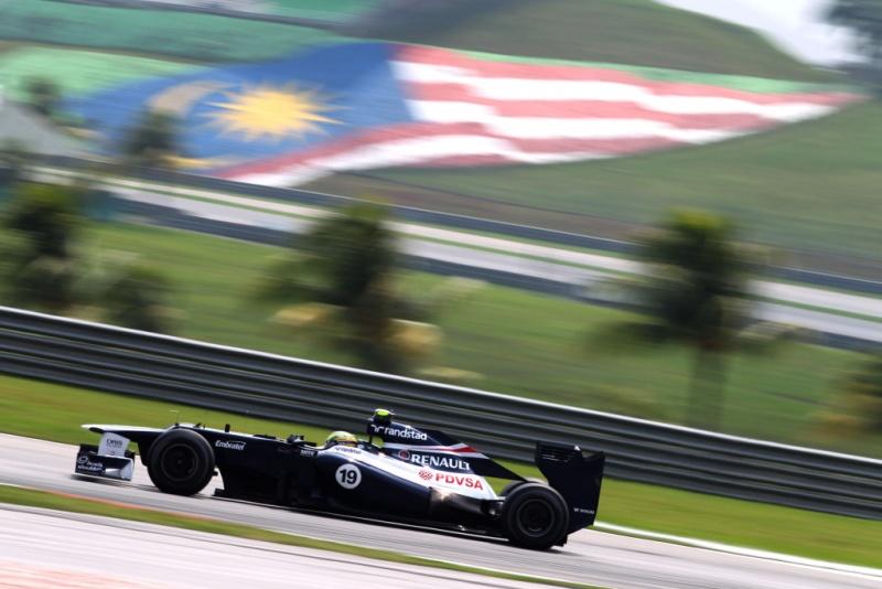 Senna participou apenas da segunda sessão de treinos