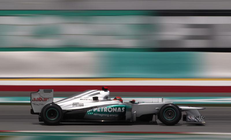 Schumacher se mostrou satisfeito com terceiro lugar