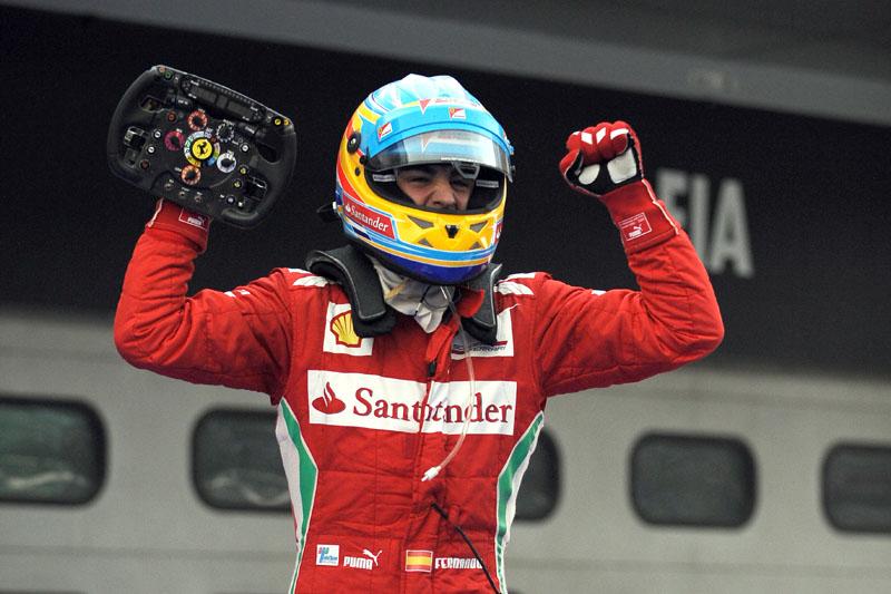 Alonso venceu sua sétima corrida pela Ferrari
