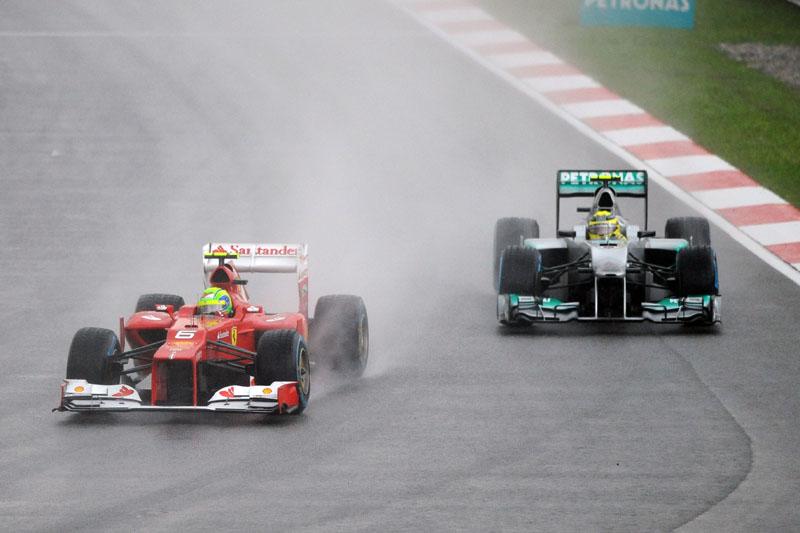 Massa e Rosberg cometeram o mesmo erro estratégico