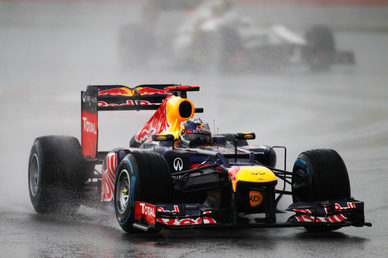 Vettel terminou fora dos pontos
