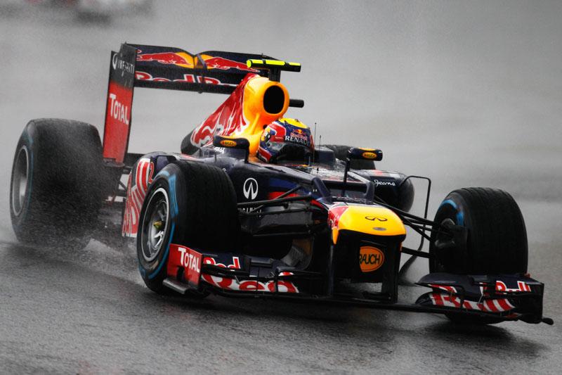 Chuvarada interferiu nos sistemas da Red Bull