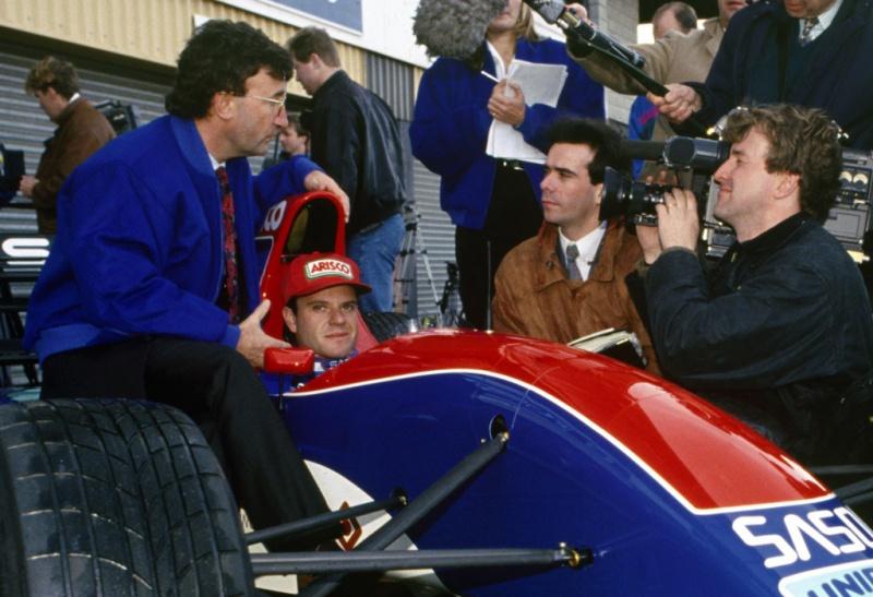 Barrichello já pilotou para Jordan