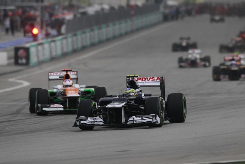 Bruno Senna foi sexto na Malásia