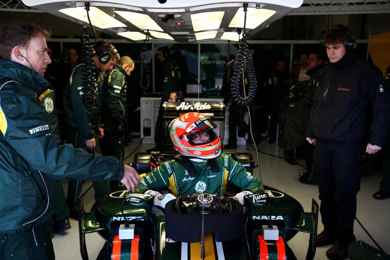 Trulli chegou a testar com a equipe neste ano