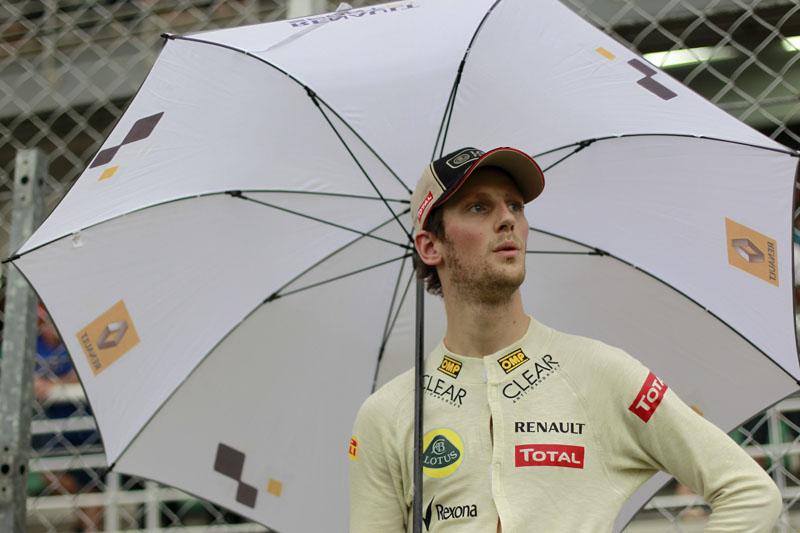 Grosjean é o último colocado no campeonato