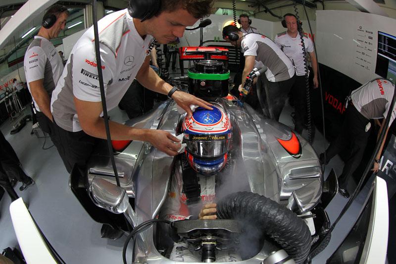 A McLaren é a líder do Mundial de Construtores