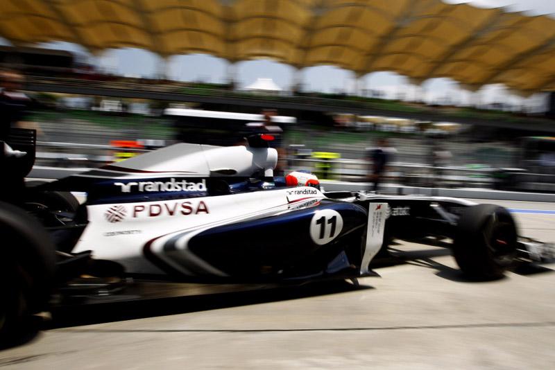 Williams vem decepcioando até agora no campeonato